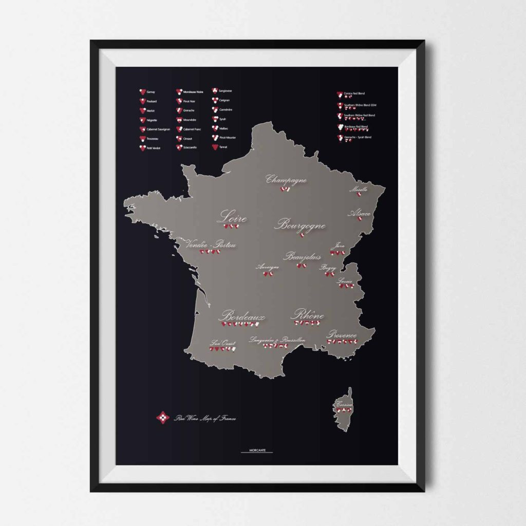 Red Wine Map of France Blank Map Of France Wine on map of spain and portugal wine, blank map of french wine regions, districts of italy wine,